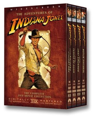 Adventures of Indiana Jones (Raiders of the Lost Ark / The Temple of Doom / The Last Crusade / Bonus Material), The