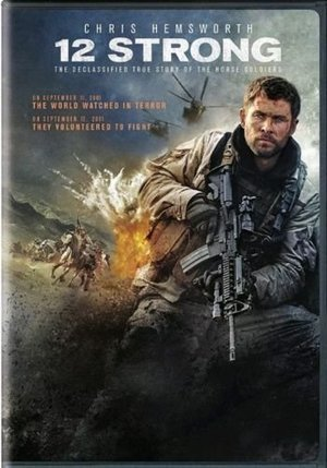 12 Strong (DVD,2018) NEW Drama, History, War A.&J.