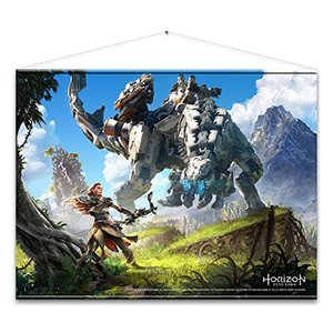 Horizon - Zero Dawn Wallscroll Cover Art