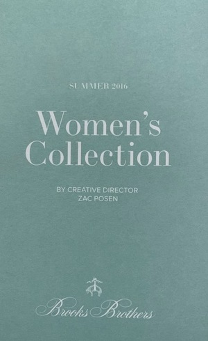Brooks Brothers: Women's Collection Summer 2016