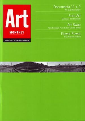 Art Monthly 258: Jul-Aug 2002