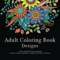 Adult Coloring Book Designs: Stress Relie