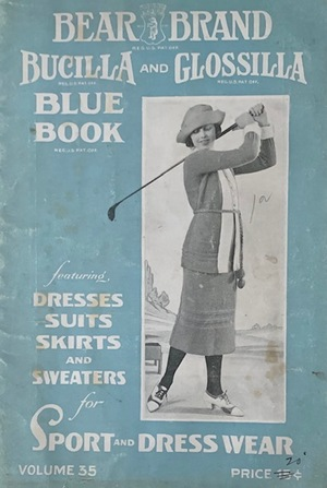 Bear Brand, Bucilla and Glossilla Blue Book Vol. 35 1921