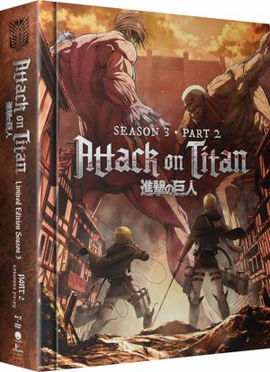 Attack on Titan: Season 3 - Part 2 (Limited Edition Blu-ray/DVD Combo)