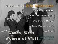 Army Navy Waves, WACs, WAFS and Women Of WW2 old films DVD WWII
