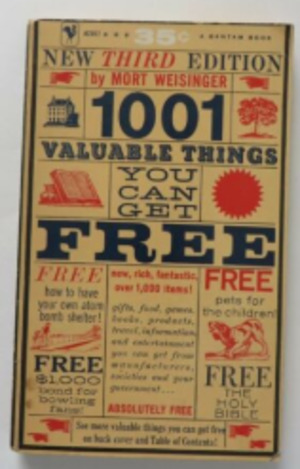 1001 valuable things you can get free Unabridged