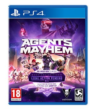 Agents Of Mayhem Day One Steelbook Edition PS4 Game [Import Anglais]