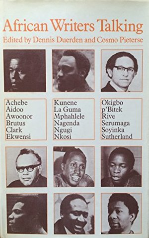 African Writers Talking (Studies in African literature)