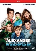 Alexander and the Terrible, No Good, Very Bad Day  (DVD)