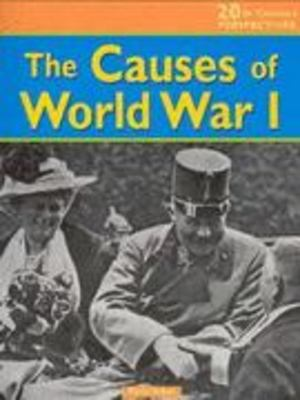 Causes of World War I, The