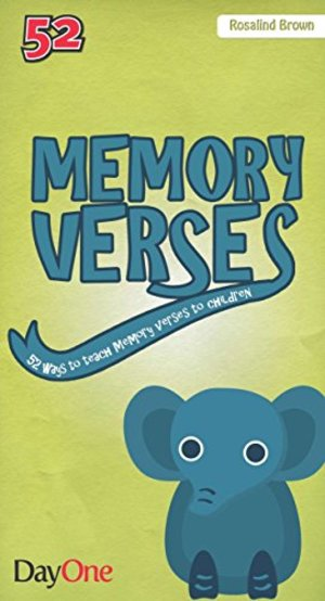 Memory Verses - 52 ways to teach memory verses to children