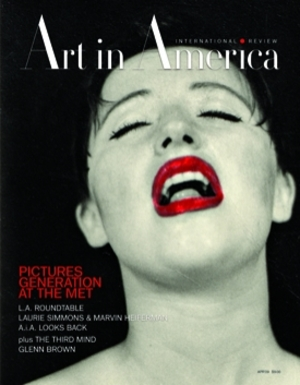 Art In America Magazine (April 2009) INTERNATIONAL REVIEW #4, Cindy Sherman