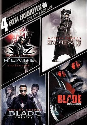 4 FILM FAVORITES:BLADE COLLECTION 4 FILM FAVORITES:BLADE COLLECTION