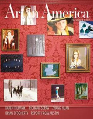 Art In America Magazine (December 2007) #11, Karen Kilimnik