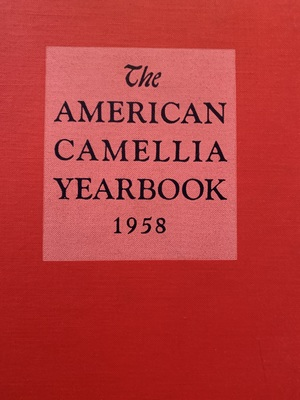 American Camellia Yearbook 1958