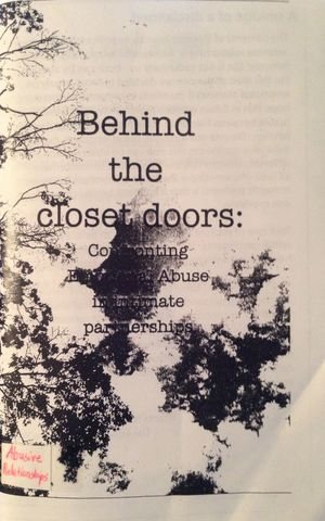 Behind the Closet Doors: Confronting Emotional Abuse In Intimate Partnerships