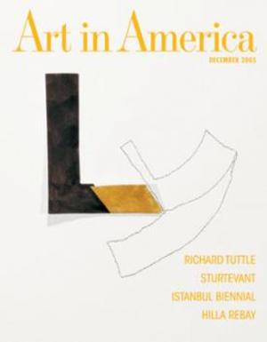 Art In America Magazine (December 2005) #11, Richard Tuttle