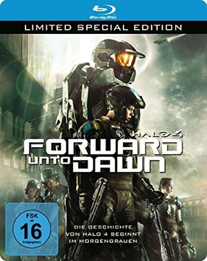 Halo 4 - Forward Unto Dawn - Steelbook [Blu-ray]