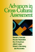 Advances in Cross-Cultural Assessment (Republics)