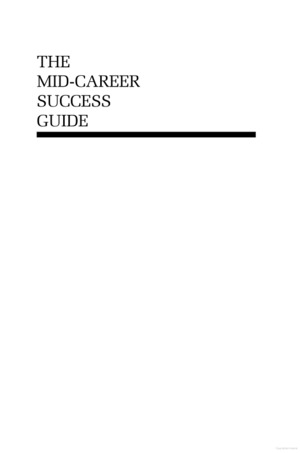 Mid-career Success Guide, The
