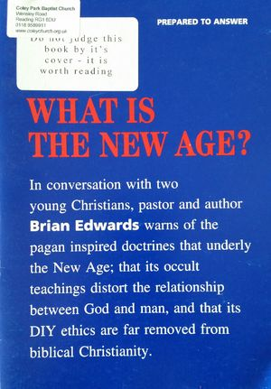 What is the New Age? (Prepared to Answer S.)