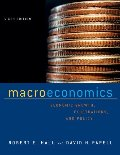 Macroeconomics: Economic Growth, Fluctuations, and Policy (Sixth Edition)