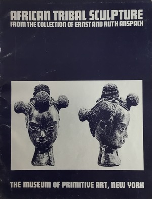 African tribal sculpture, from the collection of Ernst and Ruth Anspach