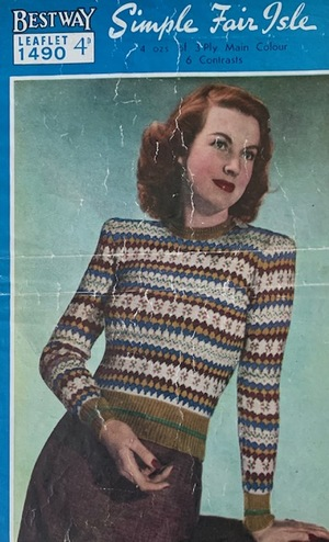 Bestway: Simple Fair Isle Patterns c. 1940