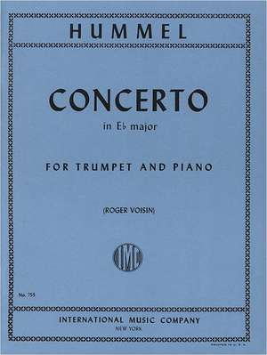 HUMMEL, J.N.: Trumpet Concerto in E Flat Major