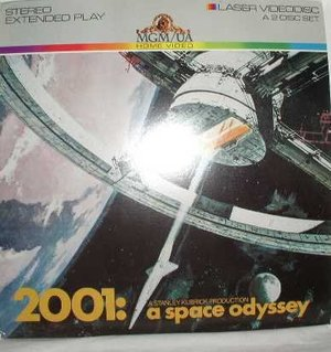 2001 A SPACE ODYSSEY LASER DISC