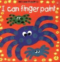 I Can Finger Paint (Usborne Playtime)
