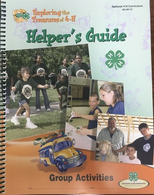 Exploring the Treasures of 4-H Helper's Guide