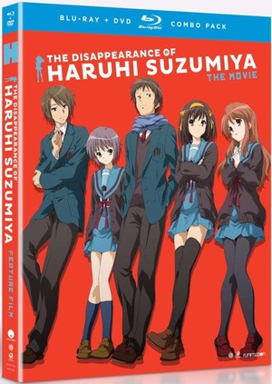 Disappearance of Haruhi Suzumiya: The Movie (Blu-ray/DVD Combo), The