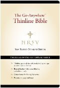 NRSV – The Go-Anywhere Thinline Bible [Black]