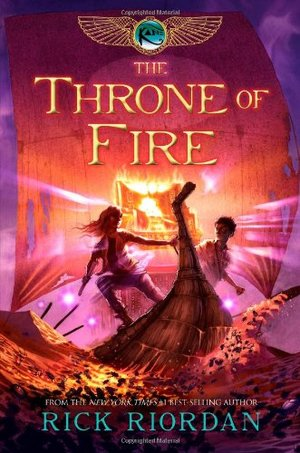 Throne of Fire (The Kane Chronicles, Book 2), The