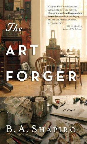 Art Forger (Thorndike Press Large Print Peer Picks), The