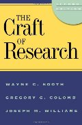 Craft of Research, 2nd edition (Chicago Guides to Writing, Editing, and Publishing), The
