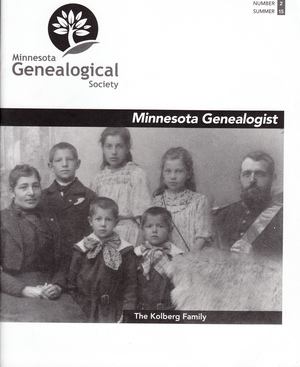 Minnesota Genealogist 46_02 Summer 2015