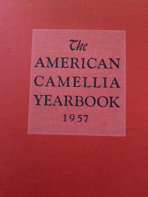 American Camellia Yearbook 1957