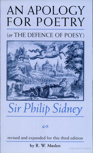 Apology For Poetry (Or The Defence Of Poesy), An