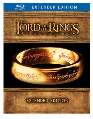 Lord of the Rings: The Motion Picture Trilogy (The Fellowship of the Ring / The Two Towers / The Return of the King Extended Editions) [Blu-ray], The