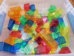 Transparent Blocks Kit