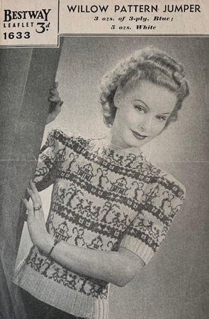 Bestway: Willow Pattern Jumper c. 1940