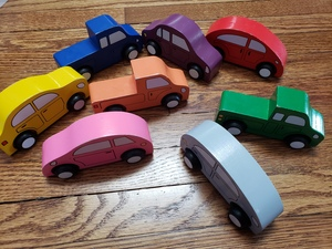 Wooden Cars & Trucks