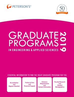 Graduate Programs in Engineering and Applied Sciences 2019 (Grad 5)