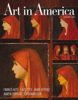 Art In America Magazine (February 2008) #2, Francis Alÿs