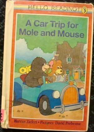 Car Trip For Mole And Mouse