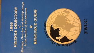 1996 Friends Directory of meetings, churches and worship groups in the section of the americas and resource guide