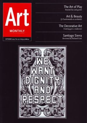 Art Monthly 279: September 2004