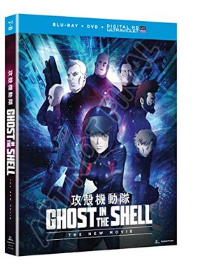 Ghost in the Shell: The New Movie (Blu-ray/DVD Combo + UV)
